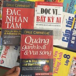 Combo 3 cuốn Đắc Nhân Tâm, Quẳng Gánh Lo Đi, Đọc Vị Bất Kỳ Ai