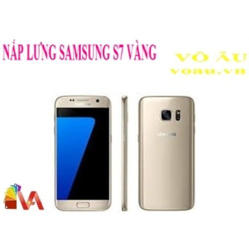 NẮP LƯNG SAMSUNG S7 MÀU VÀNG