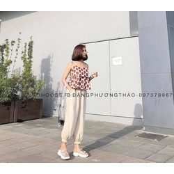 Set Peplum bi + quần