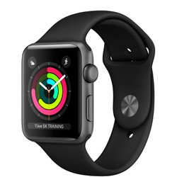 Apple Watch Series 3 42mm Gray Aluminum Case MQL12