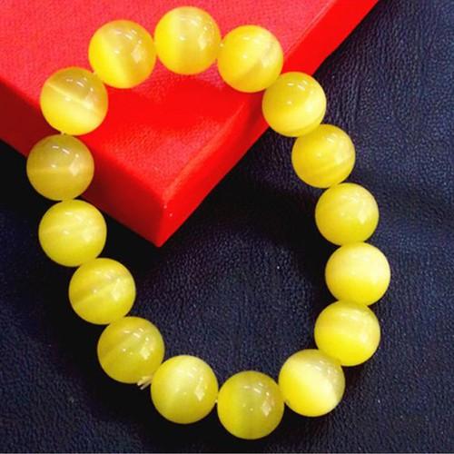 vòng tay đá màu vàng