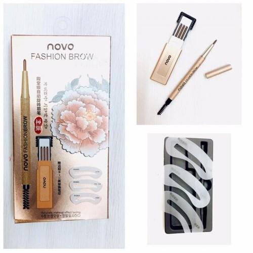 Bộ Chì Mày Định Hình 3 Kiểu Novo Fashion Brow