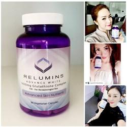 Viên Uống Trắng Da Relumins Advance White Glutathione Complex
