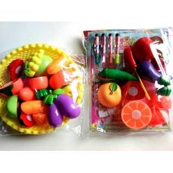 Bộ đồ chơi Cắt trái cây, rau củ cho bé