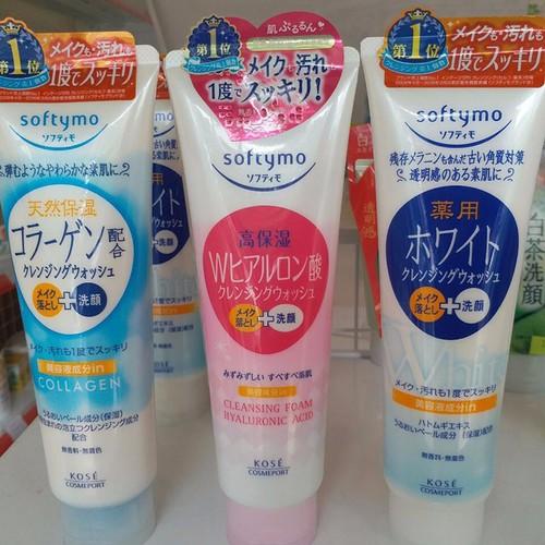 Sữa rửa mặt săn chắc da Kose Softymo Collagen