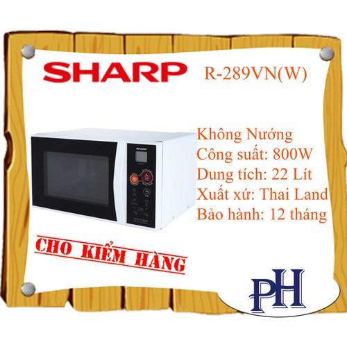 LÒ VI SÓNG SHARP R-289VN-W - 4262123 , 10444531 , 15_10444531 , 2799999 , LO-VI-SONG-SHARP-R-289VN-W-15_10444531 , sendo.vn , LÒ VI SÓNG SHARP R-289VN-W