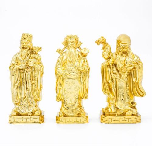 Tượng Ba ông Tam Đa mạ dát vàng cỡ nhỏ, tượng Phúc Lộc Thọ cao cấp - 4259756 , 10440998 , 15_10440998 , 25000000 , Tuong-Ba-ong-Tam-Da-ma-dat-vang-co-nho-tuong-Phuc-Loc-Tho-cao-cap-15_10440998 , sendo.vn , Tượng Ba ông Tam Đa mạ dát vàng cỡ nhỏ, tượng Phúc Lộc Thọ cao cấp