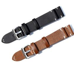Dây đồng hồ da bò, dây đồng hồ da thật 18mm 20mm 22mm - Mã số: D1802