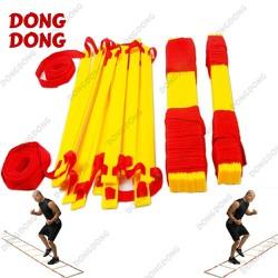 Thang dây thể thao tập luyện thể lực bóng đá 6m 12 thanh