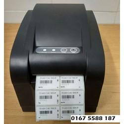 COMBO Máy in tem mã vạch và 2 cuộn tem nhiệt
