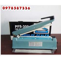 Máy hàn miệng túi pfs 300 _ xanh vỏ sắt _ 1 thanh dây hàn nhiệt