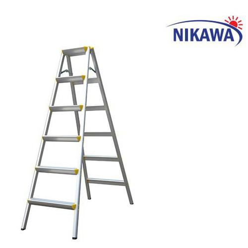 Thang nhôm gấp chữ A Nikawa  NKD-06 - 7877805 , 11308223 , 15_11308223 , 1150000 , Thang-nhom-gap-chu-A-Nikawa-NKD-06-15_11308223 , sendo.vn , Thang nhôm gấp chữ A Nikawa  NKD-06
