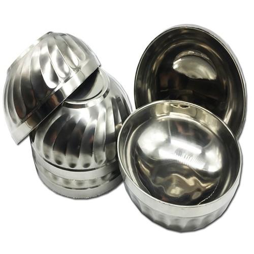Bộ 5 bát tô xoắn inox Hoàng Gia 2 lớp cách nhiệt loại 18cm - 10687532 , 10722939 , 15_10722939 , 160000 , Bo-5-bat-to-xoan-inox-Hoang-Gia-2-lop-cach-nhiet-loai-18cm-15_10722939 , sendo.vn , Bộ 5 bát tô xoắn inox Hoàng Gia 2 lớp cách nhiệt loại 18cm
