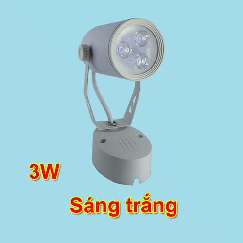 Đèn rọi tranh 3W sáng trắng  thương hiệu MInh Đức bảo hành 2 năm