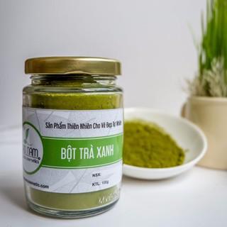Combo Bột Trà Xanh 100g + Bột Cám Gạo 100g Nguyên Chất Bảo Nam - bottraxanhaaak thumbnail
