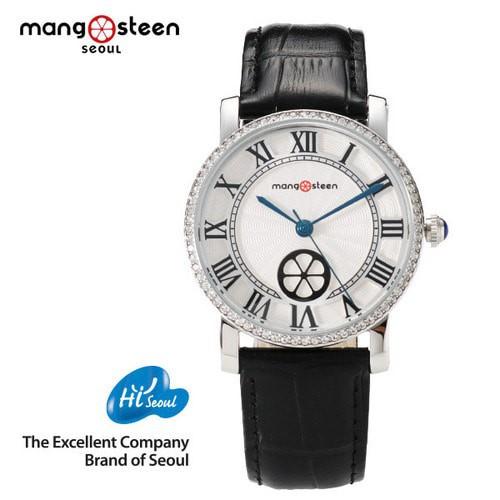 Đồng hồ nữ MS504B MANGOSTEEN SEOUL Hàn Quốc dây da