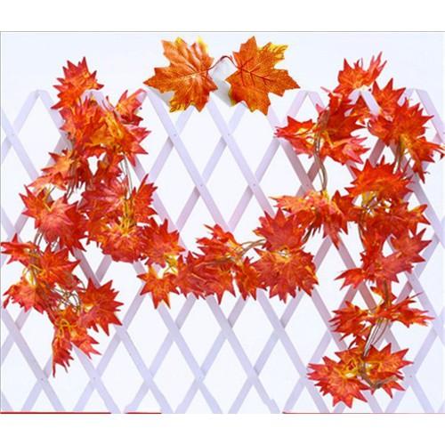 1 Dây lá phong đỏ trang trí tường rào-cây lá giả trang trí nội thất - 6076698 , 12598649 , 15_12598649 , 60000 , 1-Day-la-phong-do-trang-tri-tuong-rao-cay-la-gia-trang-tri-noi-that-15_12598649 , sendo.vn , 1 Dây lá phong đỏ trang trí tường rào-cây lá giả trang trí nội thất