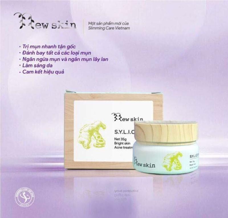 Combo đặc trị mụn Sylic New Skin - Sylic004