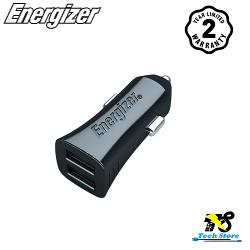 Sạc ô tô 2 cổng Energizer DCA2DUBK3 - 24W - 10685993 , 10715501 , 15_10715501 , 350000 , Sac-o-to-2-cong-Energizer-DCA2DUBK3-24W-15_10715501 , sendo.vn , Sạc ô tô 2 cổng Energizer DCA2DUBK3 - 24W