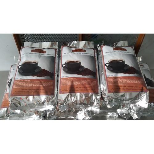 Cà phê robusta rang mộc- 5 kg hạt - phú xuân