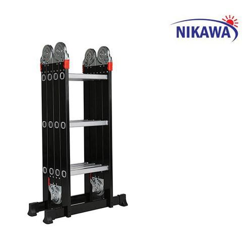 Thang nhôm gấp đoạn Nikawa NKG-43 - 10825601 , 11325255 , 15_11325255 , 1600000 , Thang-nhom-gap-doan-Nikawa-NKG-43-15_11325255 , sendo.vn , Thang nhôm gấp đoạn Nikawa NKG-43