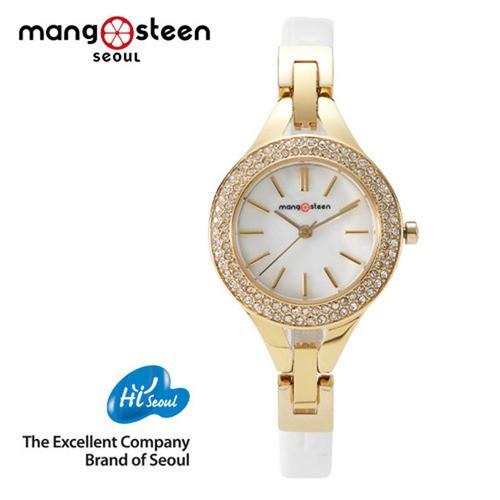 Đồng hồ nữ MS502D Mangosteen Seoul Hàn Quốc dây da