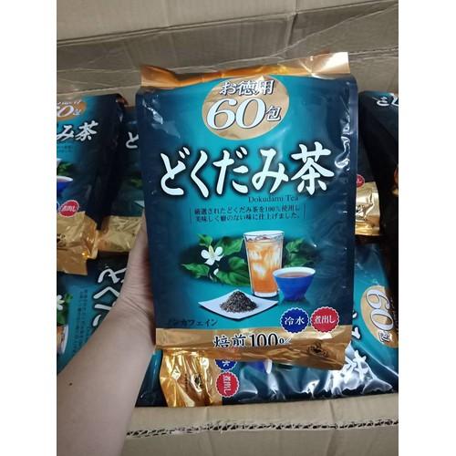Trà diếp cá thải độc mát gan trị mụn gói 60 túi lọc