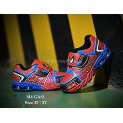 Giày siêu nhân người nhện bé trai 3 - 12 tuổi GA61