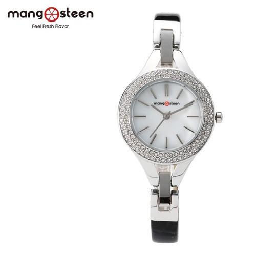 Đồng hồ nữ MS502C Mangosteen Seoul Hàn Quốc dây da