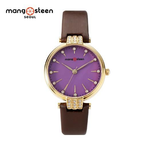 Đồng hồ nữ MS505A MANGOSTEEN SEOUL Hàn Quốc dây da