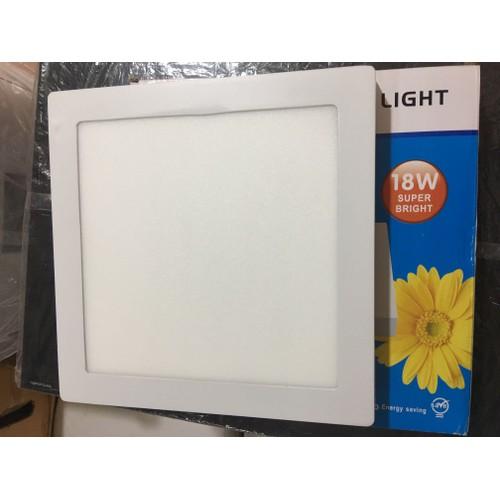 Đèn ốp trần vuông 18w siêu sáng