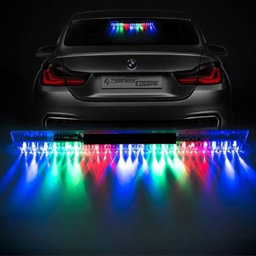 Đèn led định vị năng lượng mặt trời trên ô tô 20cm