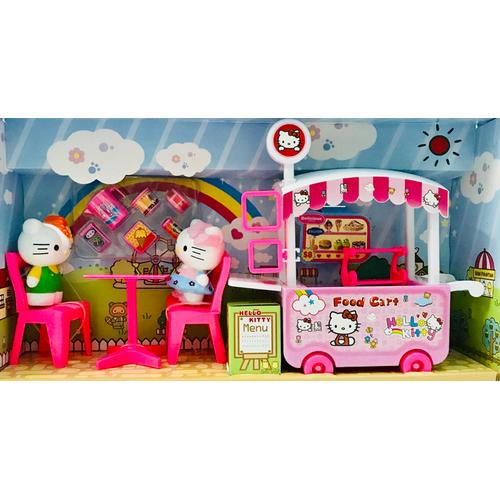 Đồ chơi xe đẩy bán kem Hello Kitty DN807KT