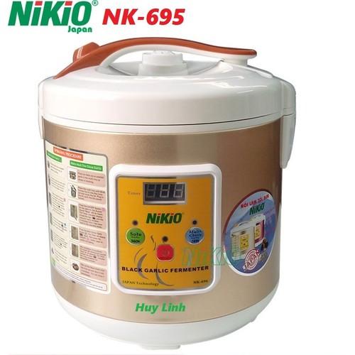Máy làm tỏi đen Nhật Bản Nikio NK-695 - Màu Vàng Gold [Mới 2018]