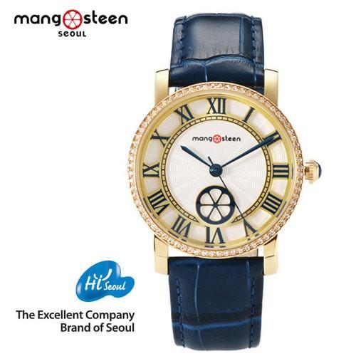 Đồng hồ nữ MS504C Mangosteen SEOUL Hàn Quốc dây da