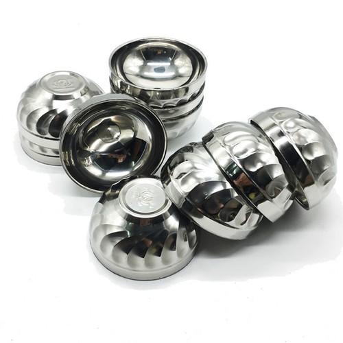 Bộ 10 bát cơm xoắn inox Hoàng Gia 2 lớp cách nhiệt loại 14cm - 10687465 , 10722745 , 15_10722745 , 215000 , Bo-10-bat-com-xoan-inox-Hoang-Gia-2-lop-cach-nhiet-loai-14cm-15_10722745 , sendo.vn , Bộ 10 bát cơm xoắn inox Hoàng Gia 2 lớp cách nhiệt loại 14cm