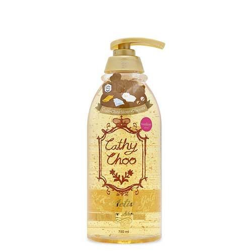 Gel tắm tinh chất vàng 24k active gold fragrance shower gel cathy choo 750ml