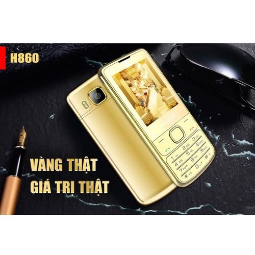 Điện thoại Masstel H860 Vỏ Vàng 24K   Hàng Chính Hãng - 10687723 , 10723481 , 15_10723481 , 800000 , Dien-thoai-Masstel-H860-Vo-Vang-24K-Hang-Chinh-Hang-15_10723481 , sendo.vn , Điện thoại Masstel H860 Vỏ Vàng 24K   Hàng Chính Hãng