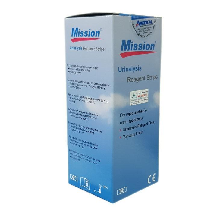 Que thử nước tiểu ACON Mission 10 thông số URS 10 hộp 100 test 3