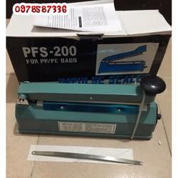 Máy hàn miệng túi FPS200  _ Mép hàn 8mm _ 1 thanh dây hàn nhiệt
