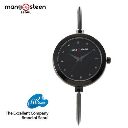 Đồng hồ nữ MS503D Mangosteen Seoul Hàn Quốc dây thép không gỉ