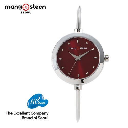 Đồng hồ nữ MS503A Mangosteen Seoul Hàn Quốc dây thép không gỉ