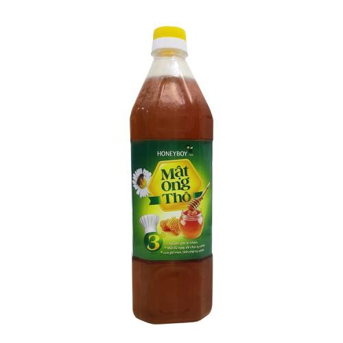 Mật ong nguyên chất - mật ong thô honeyboy 1000 ml ( 1 lít )