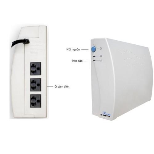 Bộ lưu điện Santak 1000VA TG1000 - Like new - có ắc quy