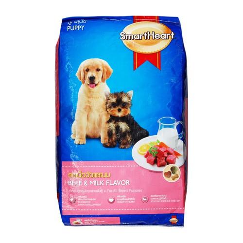 Hạt khô cho chó con dưới 1 năm tuổi Smart heart puppy 1,5kg