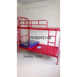 Giường Sắt Tầng 1m