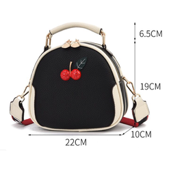 Túi xách nữ dạng hộp đính tag cao cấp nhập