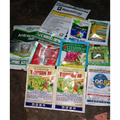 Set 9 sản phảm bảo vệ cho vườn lan nhà bạn