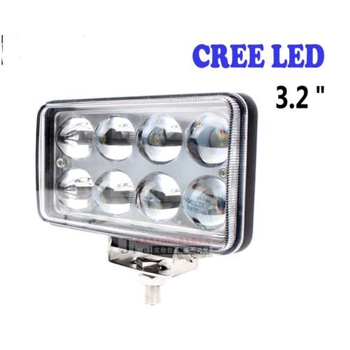 đèn trợ sáng 8 bóng led