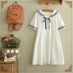 váy học sinh nhật bản dáng thủy thủ